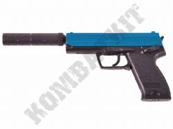 DE M81 Airsoft Pistol H&K MK23 SOCOM replica AEP Electric BB Gun Black & 2 Tone